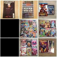 Job Lot DC Comics Justice League Captain America Howard  Thunder Agents Self