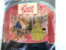 Disney Beauty & The Beast Slider Pin On With The Show Unopened