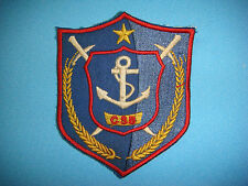 """VC PATCH MARITIME POLICE INSIGNIA """"CSB"""" CANH SAT BIEN"""