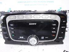 FORD GALAXY MK3 MONDEO S-MAX MK4 2010-2014 SONY DAB RADIO STÉRÉO BL61-1