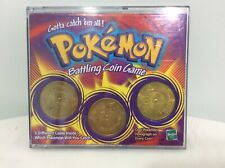 Hasbro Pokemon Battling Coin Game 3 Different Coins Spin Action