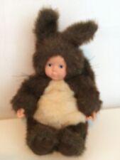 Vintage Anne Geddes Baby Squirrel Doll