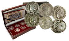 The Age of Chaos: Box of 6 SILVER Roman Coins from the Crisis of Third Century