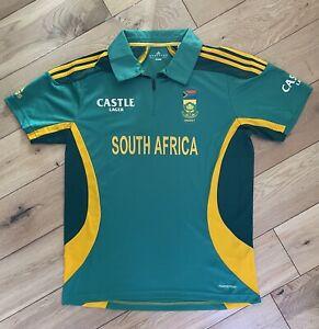 Men's Adidas South Africa Cricket T Shirt Top Jersey XL T20
