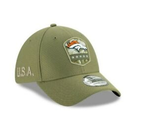 New Era 39THIRTY NFL DENVER BRONCOS MEDIUM-LARGE Salute to Service Fitted Cap