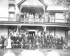1889 Photo-Group Reunion of 60th North Carolina Infantry Regimen-8x10 Photo