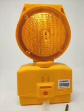 Solar Barricade Light, LED, 7-1/2 In. 03-10-SBLG, Made by Cortina Safety