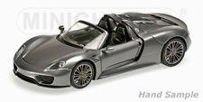Minichamps 1:43 Porsche 918 Spyder - grey