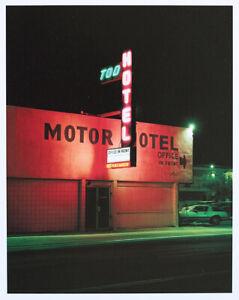 2005 proof print Albert Watson, Tod Hotel, Las Vegas, 2001