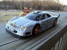 1:24 Maisto Mercedes Benz CLK GTR Silver Gold HTF