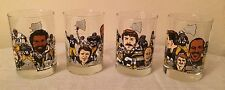 1982 Pittsburgh Steelers 50 Seasons McDonalds Glasses Complete Set Collection