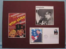 Saluting Irving Berlin and Top Hat &  First day Cover