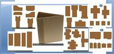 Heartfelt Creations 3D FLIP FOLD ALBUM W/POCKETS & INSERTS - KRAFT BUNDLE -432