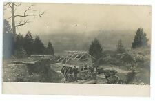 RPPC Climax Road Machine Co Marathon NY Stone Crusher Quarry PA Real Photo PC