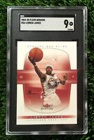 2004 Fleer Genuine #26 LeBron James Cavaliers SGC 9 ( Compare To PSA 9 )