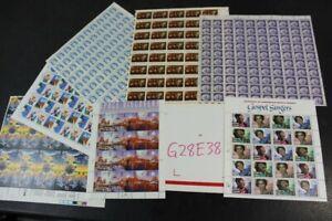CKStamps : Lovely Mint NH OG US Sheets Stamps Collection ( Face Value $100.00