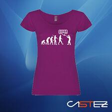 Camiseta mujer evolucion dejad de seguirme humor divertida evolution ENV. 24/48h