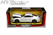 Newray 1:24 W/B 2016 Ford Shelby Gt350R Die-Cast White 71833