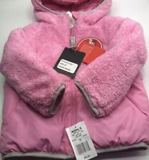 Toddler Girls Reversible Winter Jacket Zeroxposur Cozy Warm Pink $50 Value  New