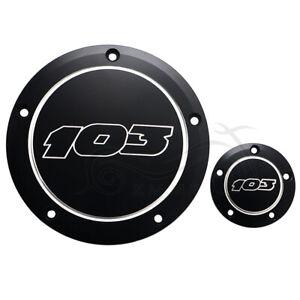 CNC Aluminum Derby Timer Cover For Harley Dyna Switchback FLD Blackline FXS