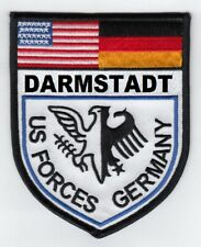 """Darmstadt Us Forces Germany 4"""" embroidered patch"""