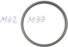 RIDUZIONE MASCHIO M42 FEMMINA M39 ADATTORE OBIETTIVO objektiv lens SRL REFLEX