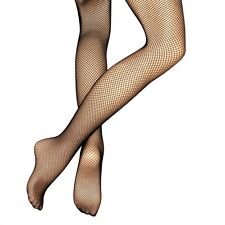 ROCH VALLEY FISHNET DANCE TIGHTS BLACK/TAN ONE SIZE NEW