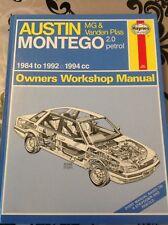 Haynes Austin Montego 1984 to 1992