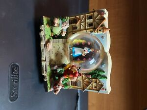 Beauty And The Beast story book double sided music box snowglobe in box
