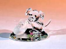 New Crystal World Hush Puppy Miniature Figurine
