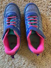 Used Danskin Girls'size 4 pink,purple tennis shoes