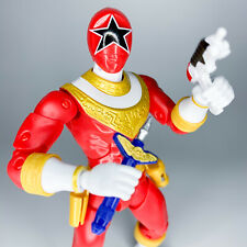 """Power Rangers Legacy Collection ZEO RED RANGER Action Figure Bandai 6.5"""" 2017"""