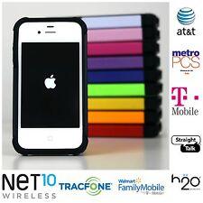 Apple iPhone 4 - 8,16,32GB- (Straight Talk) GSM Unlocked FREE CASE!