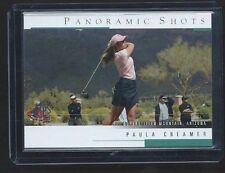 2005 Upper Deck SP Authentic Golf Paula Creamer Panoramic Shots Rookie Card