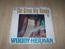 WOODY HERMAN - THE GREAT BIG BANDS Vol 2  LP