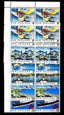 NEW ZEALAND - NUOVA ZELANDA - 1989 - Patrimonio culturale (3). Il mare