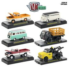 1:64 M2 Machines *AUTO-TRUCKS R50* = COMPLETE SET of 6 *CHANCE AT CHASE* NIP!