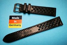 Cordovan Shell Uhrenarmband Racing 19mm schwarz Made in Germany