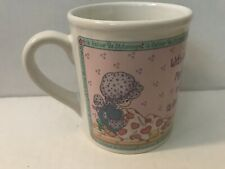 1994 Precious Moment Needles And Thread Mug