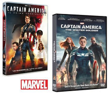 CAPTAIN AMERICA 1 e 2 - The Winter Soldier + Il Primo Vendicatore (2 DVD)