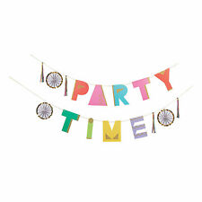 Party Time Garland - Party Decor - 1 Piece