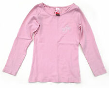 EUC Matilda Jane -6- Shirley Layering Tee Pink Basic Top with MJC Monogram