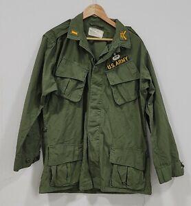 Vietnam Jungle Jacket OG 107 Size Medium Long 503rd Airborne Ranger 2nd Pattern