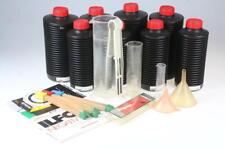 Laborzubehör Set Flaschen, Mensuren, Thermometer und Kleinteile