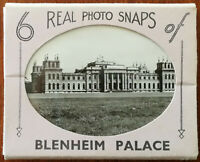 Blenheim Palace 6 Real Photo Snapshots.  R. A. (Postcards) Ltd.