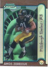 1999 BOWMAN CHROME REFRACTOR INTERSTATE ser #'ed 007/100 AMOS ZEREOUE  Steelers