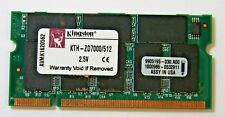 Kingston 512 MB PC-2700S 200-pin Genuine SO-DIMM DDR RAM KTH-ZD7000 9905195 - 35
