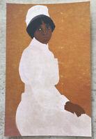 Postcard ~ 15X9.75cm Black lives African American Woman Susie King Taylor Nurse
