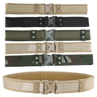 Lightweight Tactical Camouflage Outdoor Hunting Climbing Utility Belt Rope GL