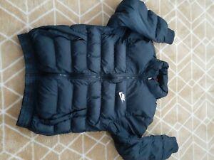 Nike Boys Black Coat jacket Age 12 13 Years